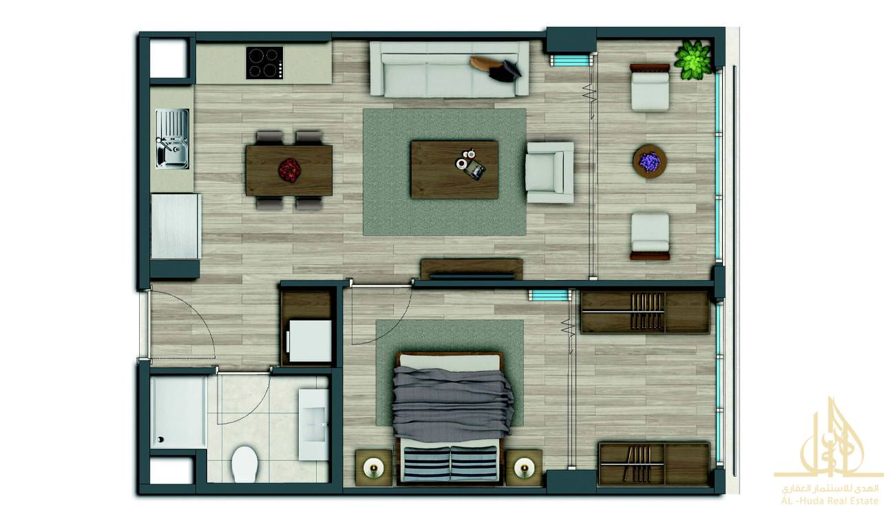 ALH-1607 Floor Plan