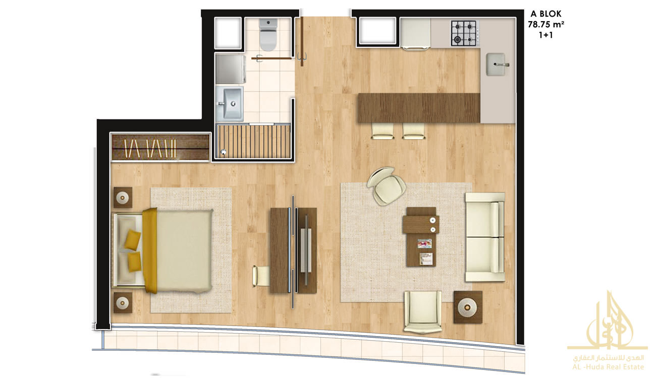 ALH-821 Floor Plan